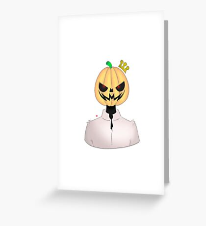 Pimp King Greeting Card