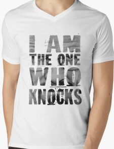 Breaking Bad - I Am The One Who Knocks Mens V-Neck T-Shirt