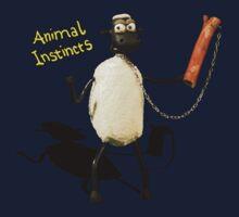 Animal Instincts - Sheep One Piece - Long Sleeve