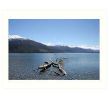 Boundary Creek - New Zealand Art Print