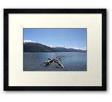 Boundary Creek - New Zealand Framed Print