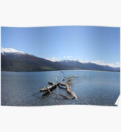Boundary Creek - New Zealand Poster