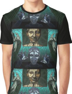 Weeping angels stained glass Graphic T-Shirt