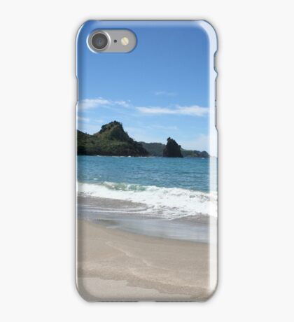 Great Barrier Island Beach - New Zealand iPhone Case/Skin