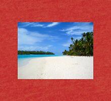One Foot Island, Aitutaki - Cook Islands Tri-blend T-Shirt