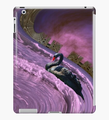 Ride the big waves with calm serenity iPad Case/Skin