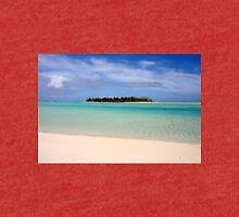 Maina Island, Aitutaki - Cook Islands Tri-blend T-Shirt
