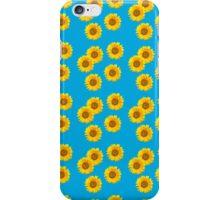 Sunflower Vintage Kitsch Pattern iPhone Case/Skin