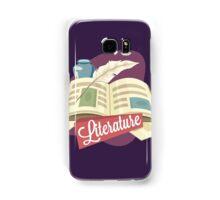 Literature Samsung Galaxy Case/Skin