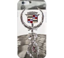 Cadillac emblem iPhone Case/Skin