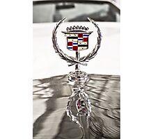 Cadillac emblem Photographic Print