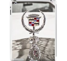 Cadillac emblem iPad Case/Skin