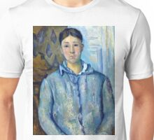 1890 - Paul Cezanne - Madame Cézanne in Blue Unisex T-Shirt