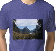 Milford Sound - New Zealand Tri-blend T-Shirt