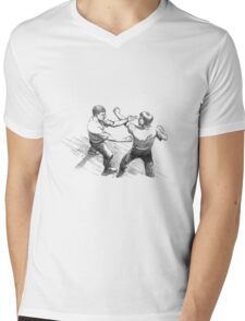 Wing Chun Mens V-Neck T-Shirt