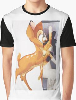 Givenchy Bambi Graphic T-Shirt