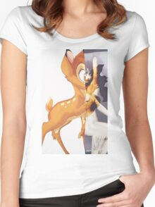 Givenchy Bambi Women's Fitted Scoop T-Shirt