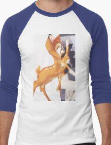 Givenchy Bambi Men's Baseball ¾ T-Shirt