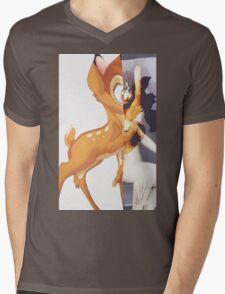 Givenchy Bambi Mens V-Neck T-Shirt