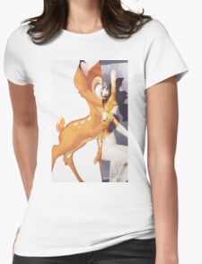 Givenchy Bambi Womens Fitted T-Shirt