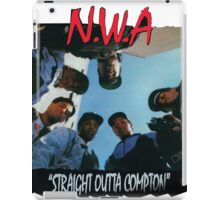 N.W.A Straight outta compton iPad Case/Skin