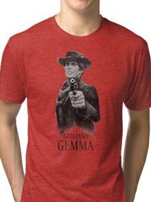 Giuliano Gemma Spaghetti Western Tri-blend T-Shirt