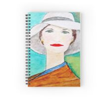 Harriette (From the Mona Lisa Smiles Series) Spiral Notebook