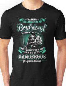 i belong to my boyfriend  Unisex T-Shirt