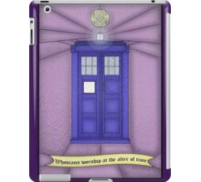 Whovian stained glass iPad Case/Skin