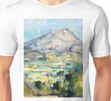 1890 - Paul Cezanne - Montagne Saint-Victoire Unisex T-Shirt