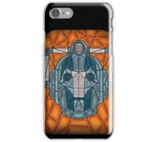 Cyberman stained glass iPhone Case/Skin