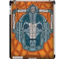 Cyberman stained glass iPad Case/Skin