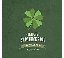 Saint Patrick's Day Background Photographic Print