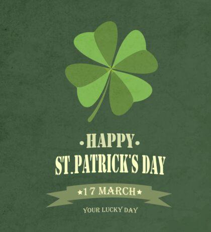 Saint Patrick's Day Background Sticker