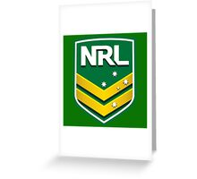 National Rugby League Greeting Card