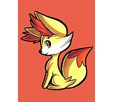 Fennekin Photographic Print