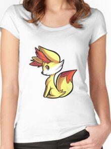 Fennekin Women's Fitted Scoop T-Shirt