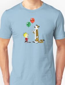calvin and hobbes ballon T-Shirt