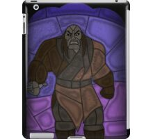 Warlord - stained glass villains iPad Case/Skin