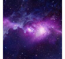 Massive scale galaxy print (2 of 2, purple) Photographic Print