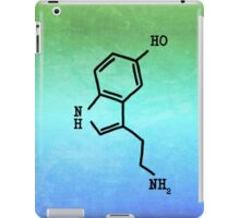 Serotonin - Molecular Structure iPad Case/Skin