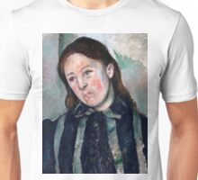 1890 - Paul Cezanne - Portrait of Madame Cézanne2 Unisex T-Shirt