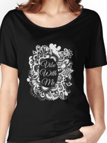 Vibe with me Women's Relaxed Fit T-Shirt