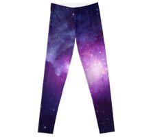 Massive scale galaxy print (2 of 2, purple) Leggings