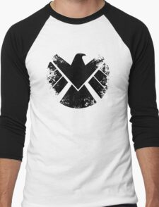 SHIELD Badge - Black Men's Baseball ¾ T-Shirt