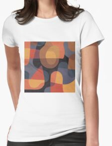 Post-it Painting #45 Womens Fitted T-Shirt