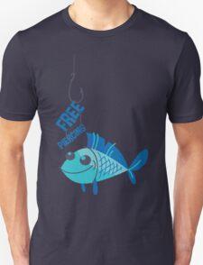 Free Piercing: Fisherman's Pun T-Shirt