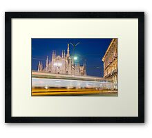 Milan cathedral Framed Print