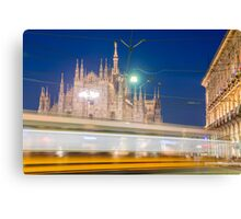 Milan cathedral Canvas Print