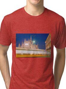 Milan cathedral Tri-blend T-Shirt